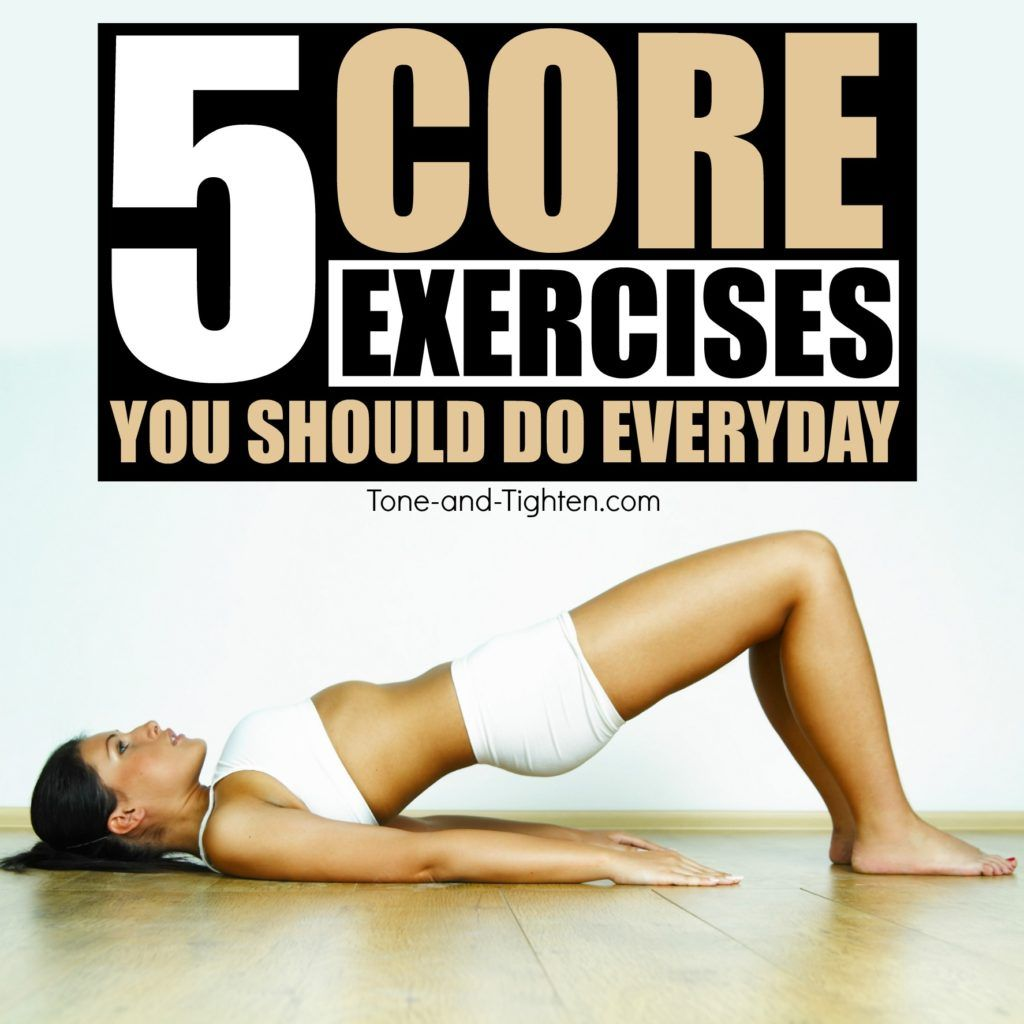 Best Core Exercises You Can Do At Home