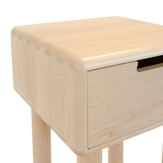 Nightstand No 4 Simple Night Stand Bed Side Table Solid Wood