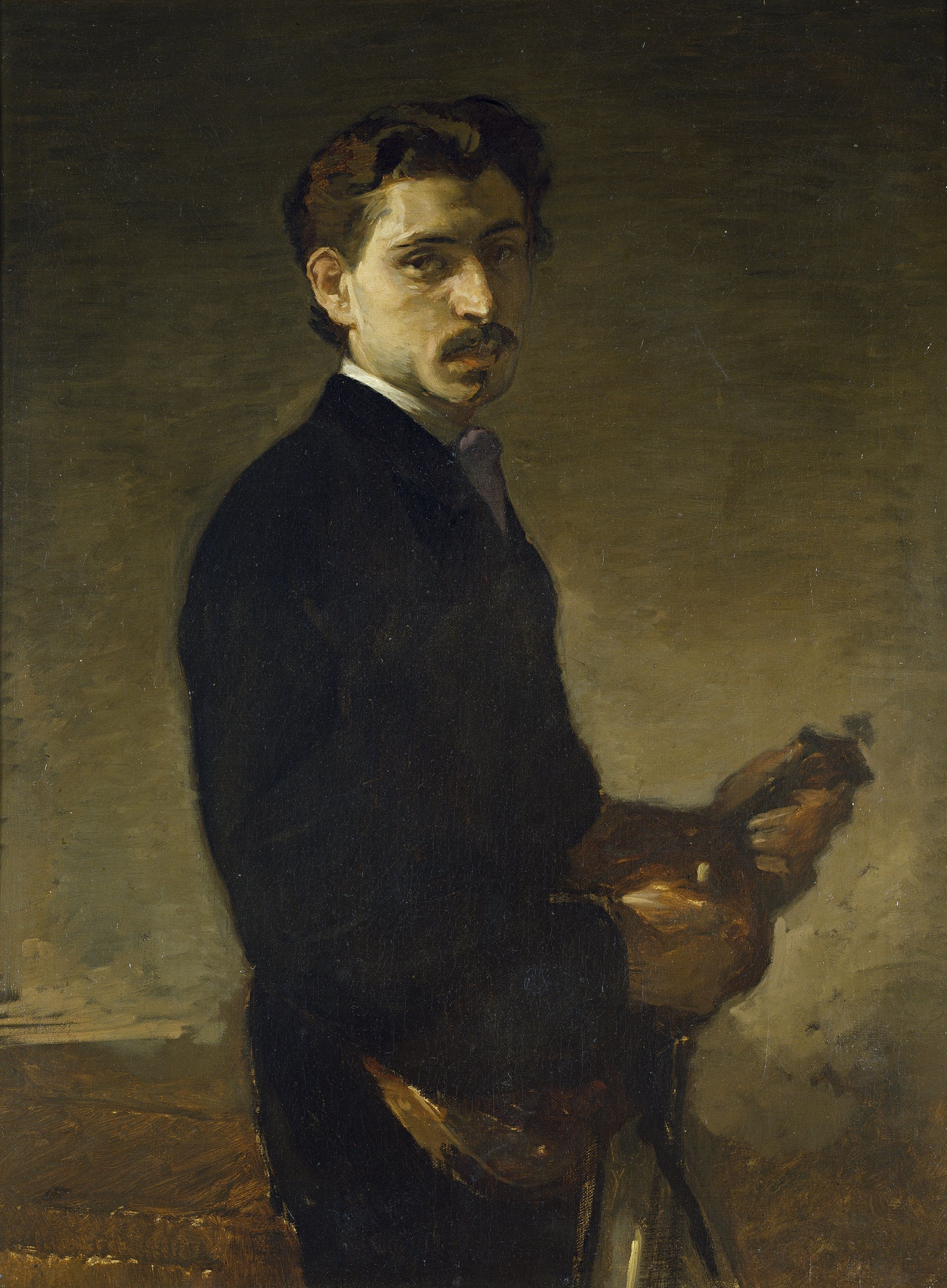 El violinista, de Eduardo Rosales