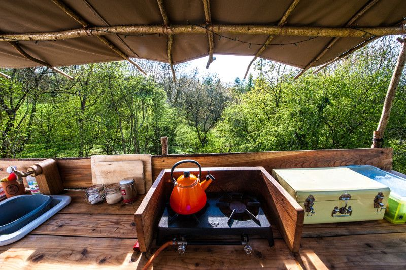 Cotswold Yurts Outdoor Furniture Sets Kitchen Views Outdoor Kitchen