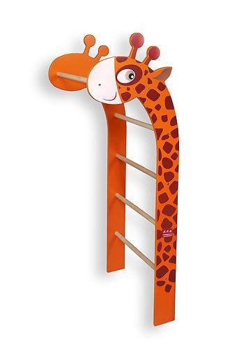 Kinderbilder fürs kinderzimmer giraffe  Details zu NEUHEIT des Jahres Giraffe Sprossenwand für Kinder ...
