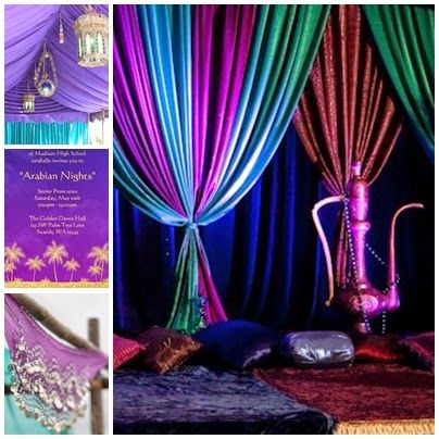 Arabian Nights / Moroccan Sweet Fifteen Theme  by quincecandles  Sources from left to right: Hire Belly Dancers to Perform    Intricate Ara...