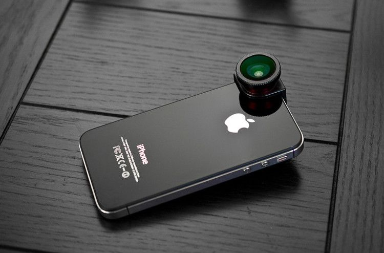 Olloclip,    Patrick O'Neill and Chong Pak managed to address a limitation of the iPhone 4S's otherwise terrific camera with Olloclip, an ingenious clip-on, three-in-one lens accessory that lets you snap fish-eye, wide-angle, and close-up pictures.