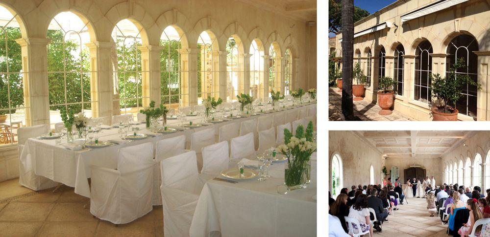 Carclew house adelaide wedding decor