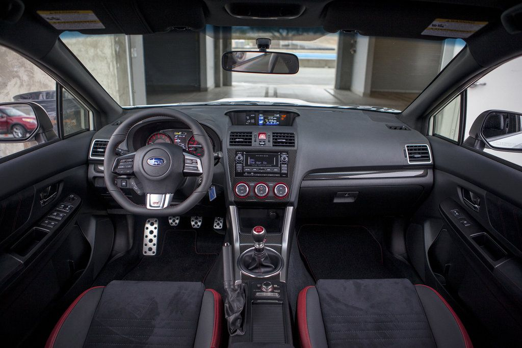 Awesome 2015 Subaru WRX STI Dashboard Interior Wallpaper