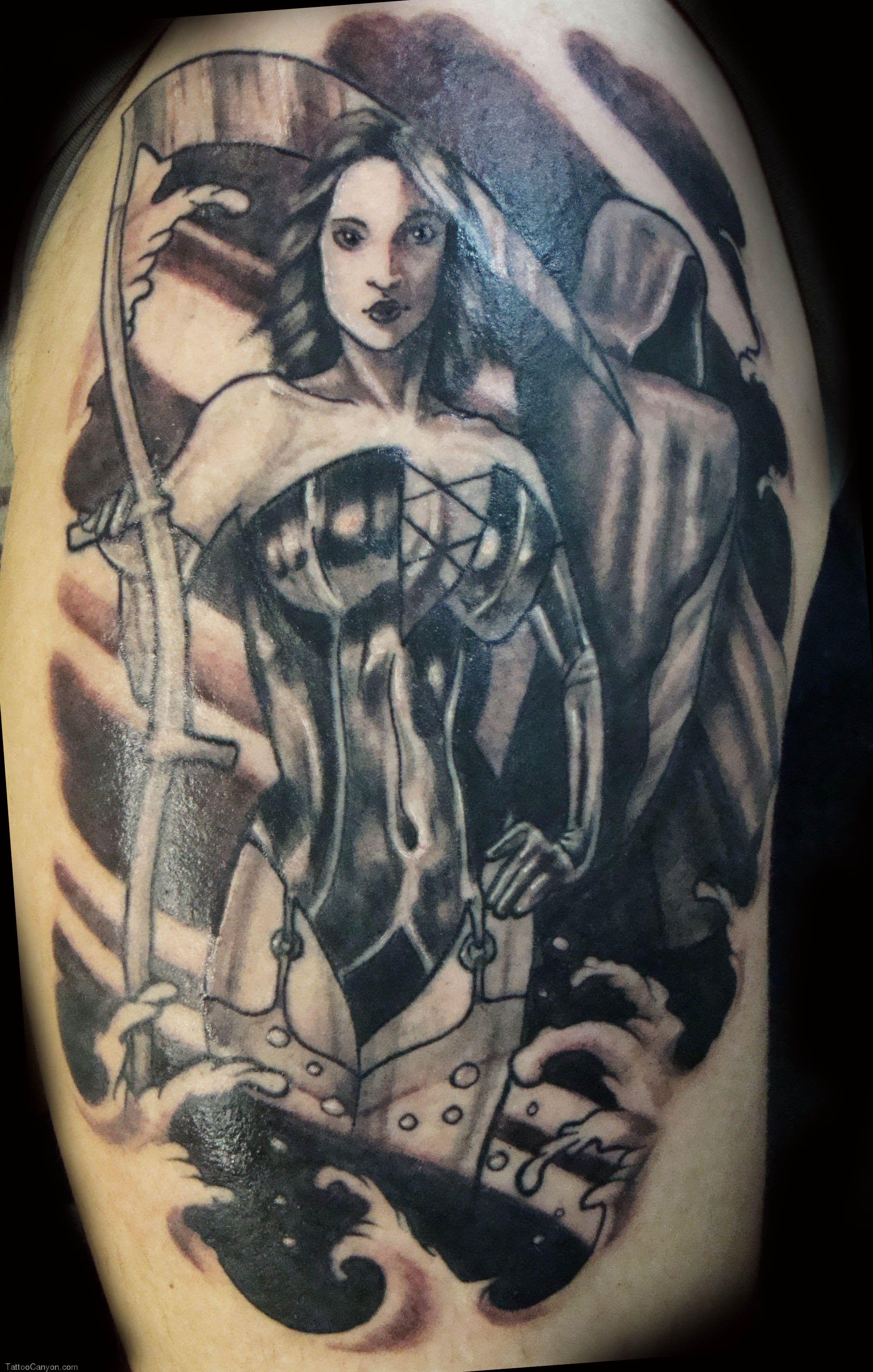 grim reaper tattoo 64
