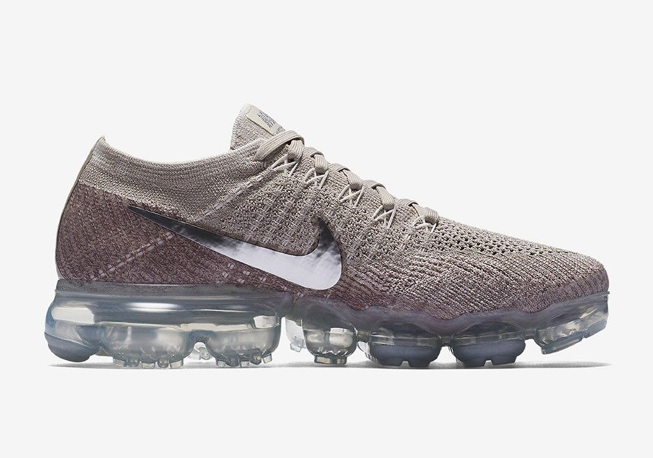 Nike WMNS Air VaporMax String - Retro Shoes. Nike WMNS Air VaporMax String  Color: String/Chrome-Sunset Glow-Taupe Grey ...