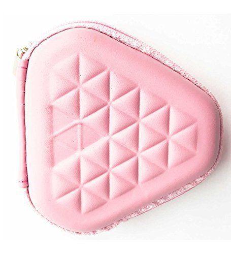 Fidget Spinner Box CaseStorage Pink Triangle Fits Most Triangle Fidget  Spinners Case Only.