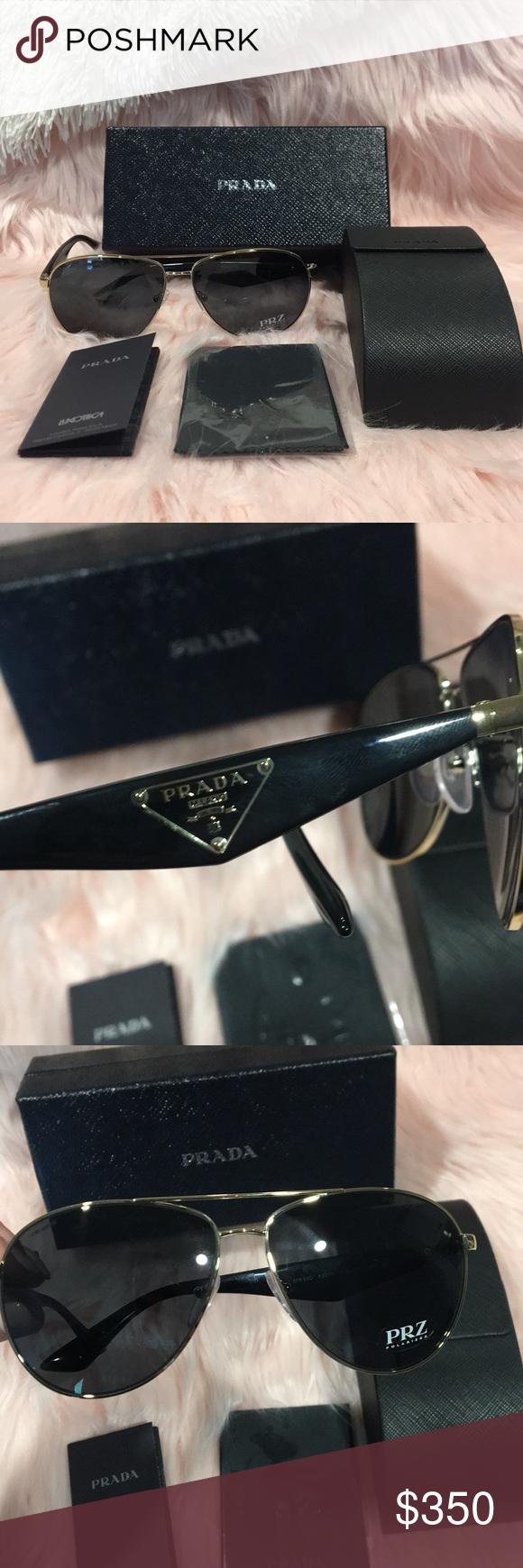 2248af0f664 NIB - Prada - Milano Triangle Aviator Sunglasses NIB - Prada - Milano  Triangle Aviator Sunglasses