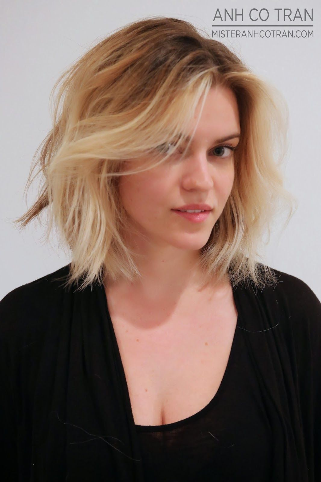 Anh co tran la a beautiful bob at ramireztran salon haircuts