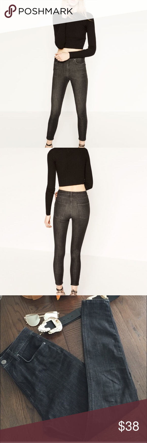 Body frame high rise trousers | My Posh Picks | Pinterest | Stretch ...