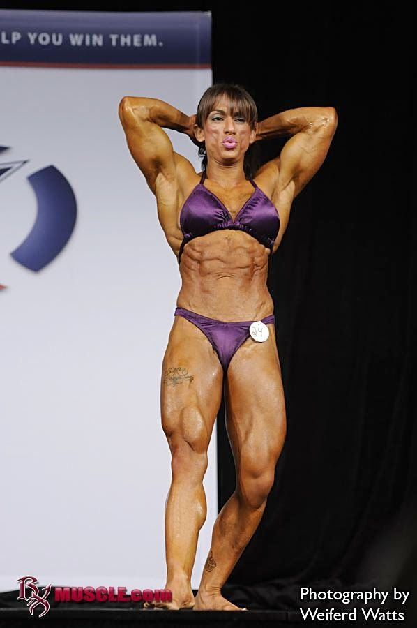 Carla Rossi Female Bodybuilding Muscular bodybuilding