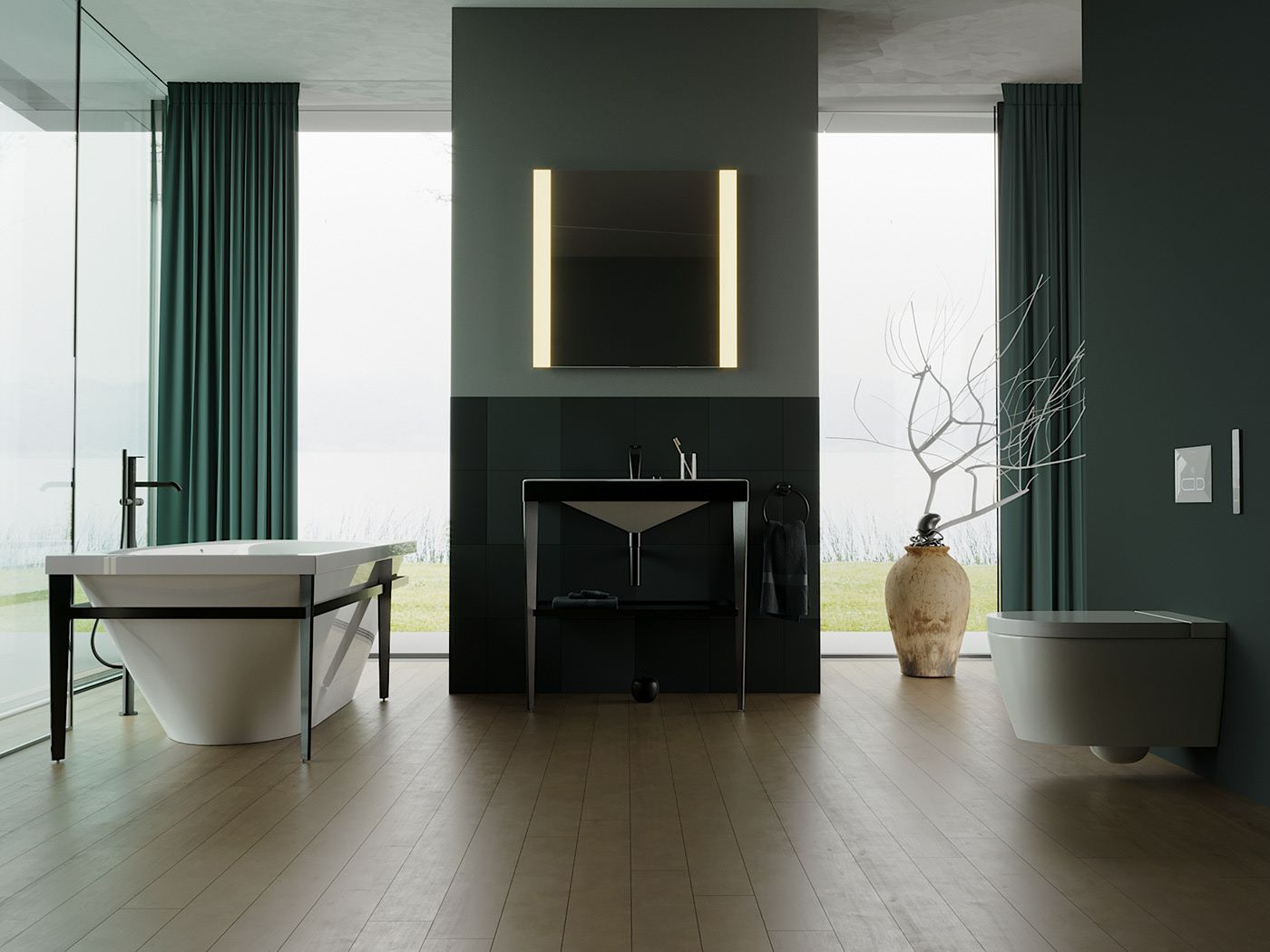 Infrarotheizung Badezimmer Spiegel