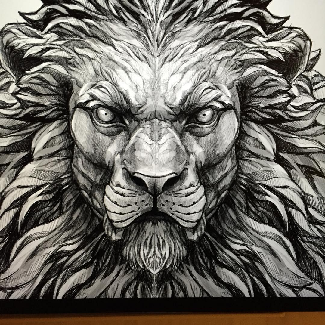 Another Lion Sketch For A Future Tattoo Piece | Career/life | Pinterest | Lion Sketch Future ...