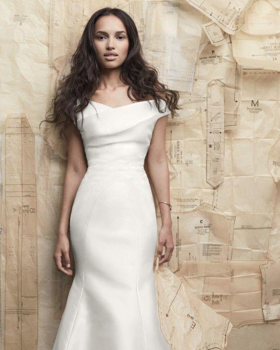 68d24377c2 One Shoulder Wedding Dress · Ordinarily