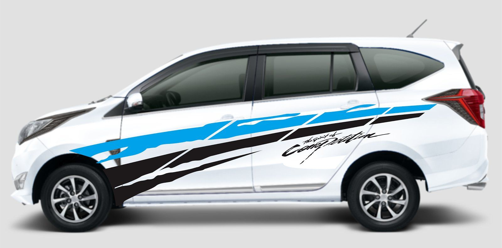 Modifikasi Stiker Mobil Sigra Stiker Mobil Mobil Konsep Mobil