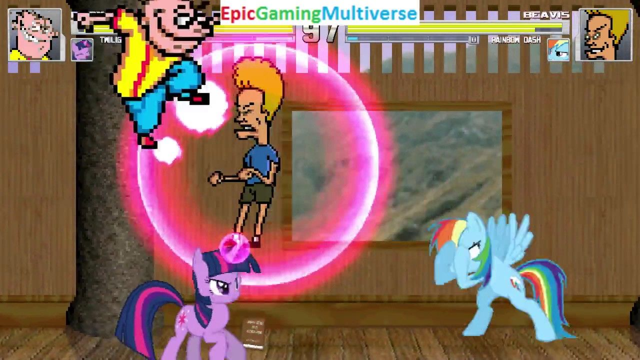 Twilight Sparkle And Eddy VS ------ And Rainbow Dash In A MUGEN Match / Battle / Fight: https://t.co/T57ETFA7mL via @YouTube