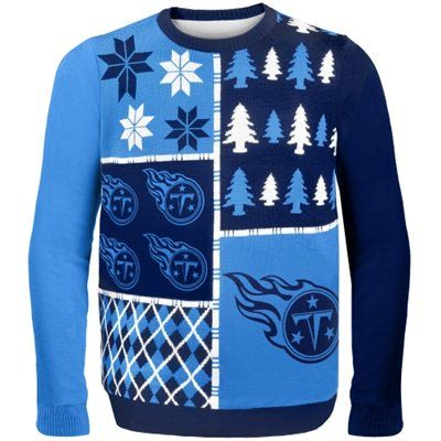 7602c070 Tennessee Titans Busy Block Ugly Sweater #Titans #tennessee | Ugly ...