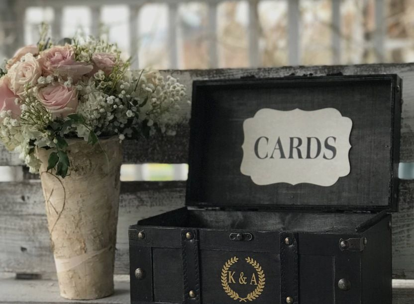 Wedding Card Box Dimensions Inspirational Personalized Boxrustic