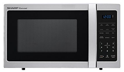 Sharp Microwaves Zsmc0912bs Sharp 900w Countertop Microwave Oven 0 9 Cubic Foot Stainless Stee Countertop