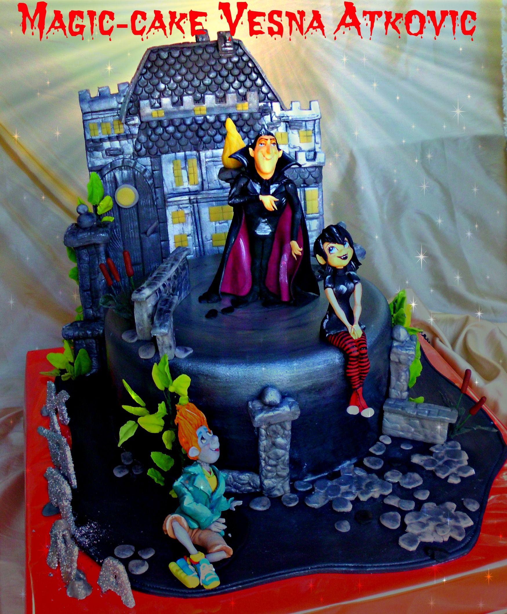 Hotel Transylvania 3 Cake Children Birthday