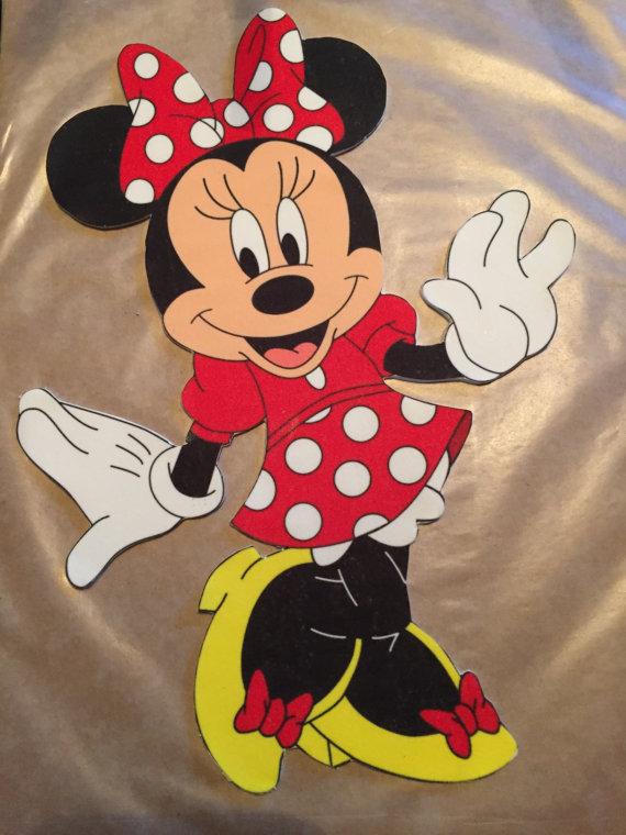 Minnie or Mickey Mouse Edible Cake Topper | Edible cake ...