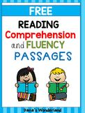 FREE Reading Fluency and Comprehension Passages