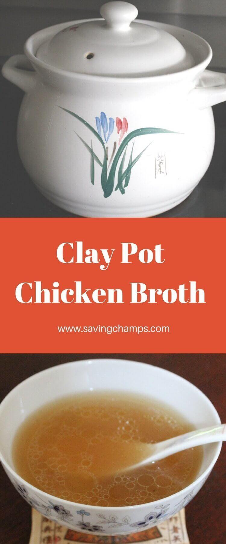 Clay Pot Chicken Broth Clay pot chicken recipe, Chicken