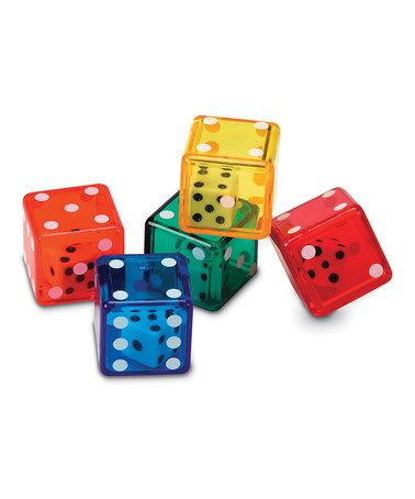 Loving this Dice in Dice Set on #zulily! #zulilyfinds