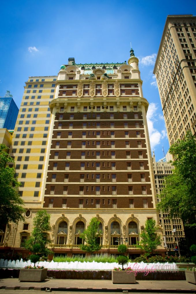 Classic Dallas wedding venue, The Adolphus Hotel