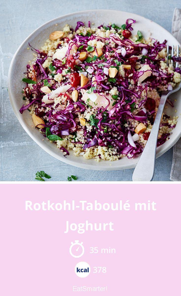 Rotkohl-Taboulé mit Joghurt