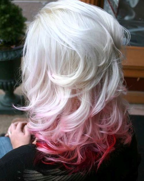 25 Thrilling Ideas For Red Ombre Hair Red Ombre Hair Ombre Hair Blonde Ombre Hair