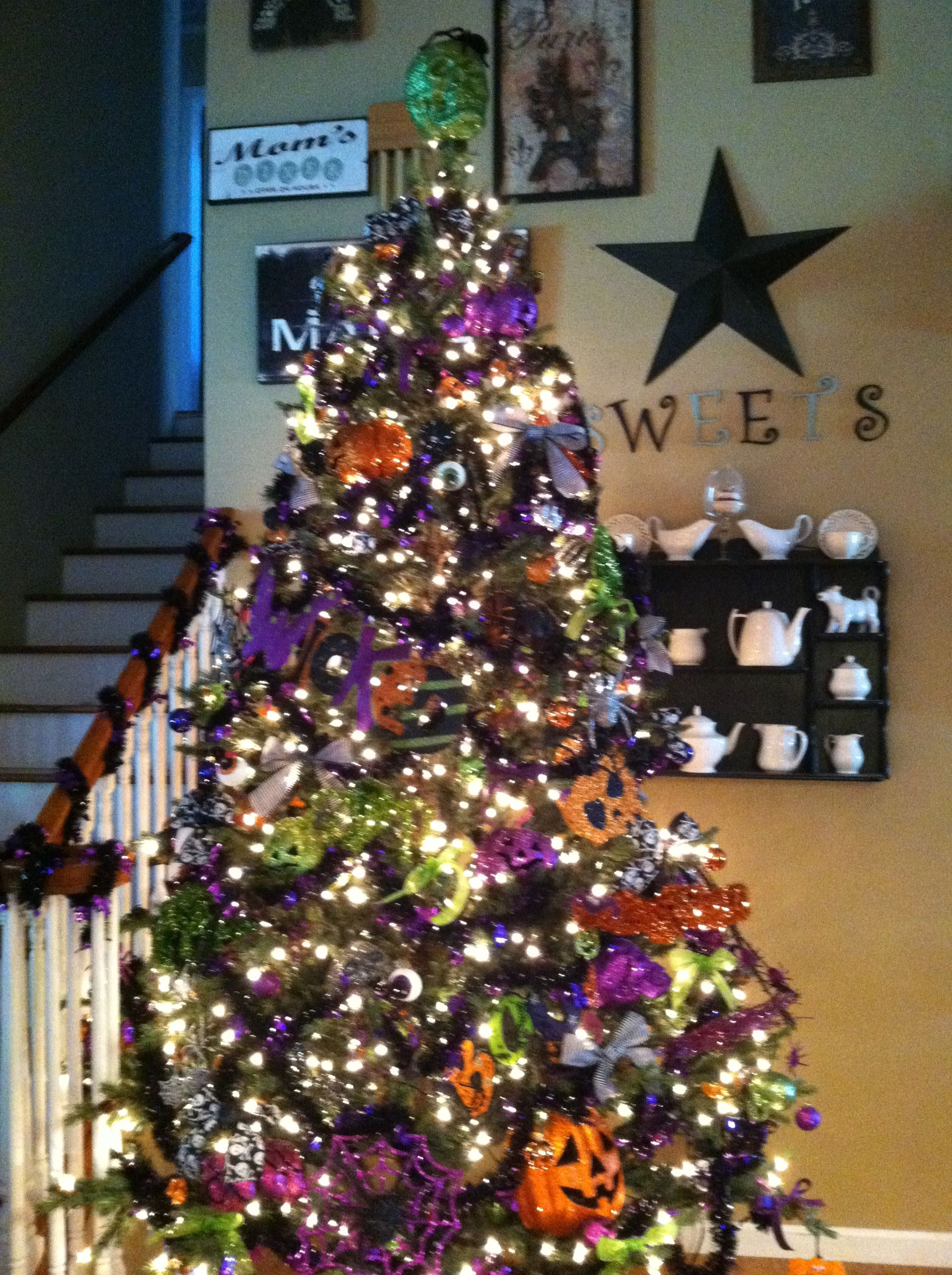 Nightmare before Christmas Halloween Tree Nightmare Before - halloween tree decoration