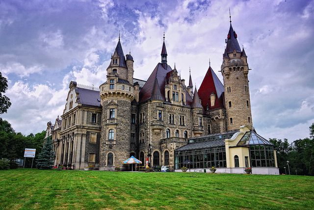 Castles in Poland | Poland Castle Moszna June 2012