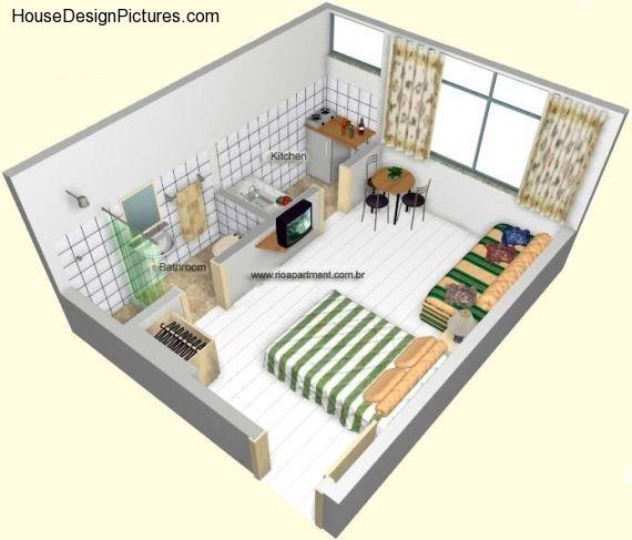 Fesselnd Kleines Studio Appartement Layout Ideen | Mehr Auf Unserer Website  | #Wohnung