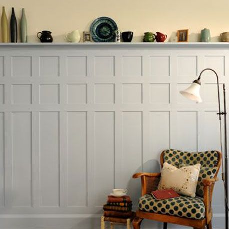 Arts And Crafts Paneling This Paneling Style Comprising