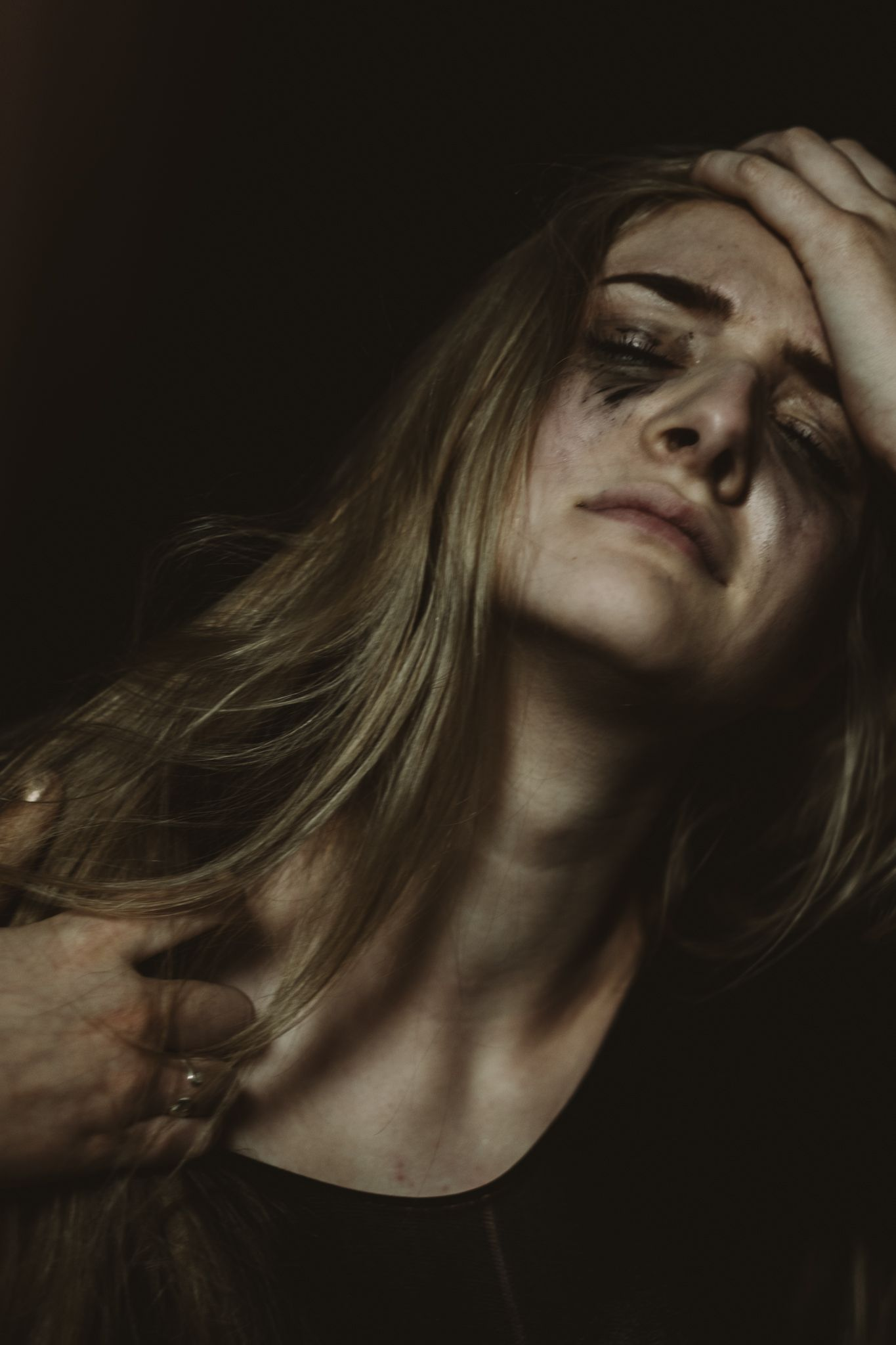 sadness + frustration Senior, girl, portrait, dark, LXC ...