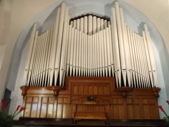 Pipe Organ at the church