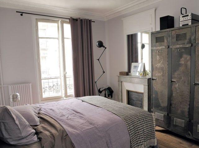 déco chambre parme, blanc, gris | chambre d\'amis | Pinterest | Parme ...