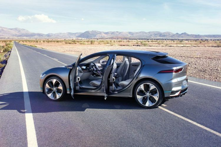 The Jaguar I Pace Concept Electric Suv For 2018 Electric Car Concept All Electric Cars Jaguar