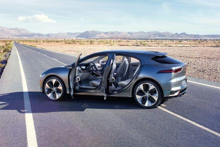 Jaguar I Pace Concept Electric Suv For 2018 3