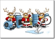 Christmas Carpet Cleaning.Sw 00727 Industry Specific Christmas Card For The