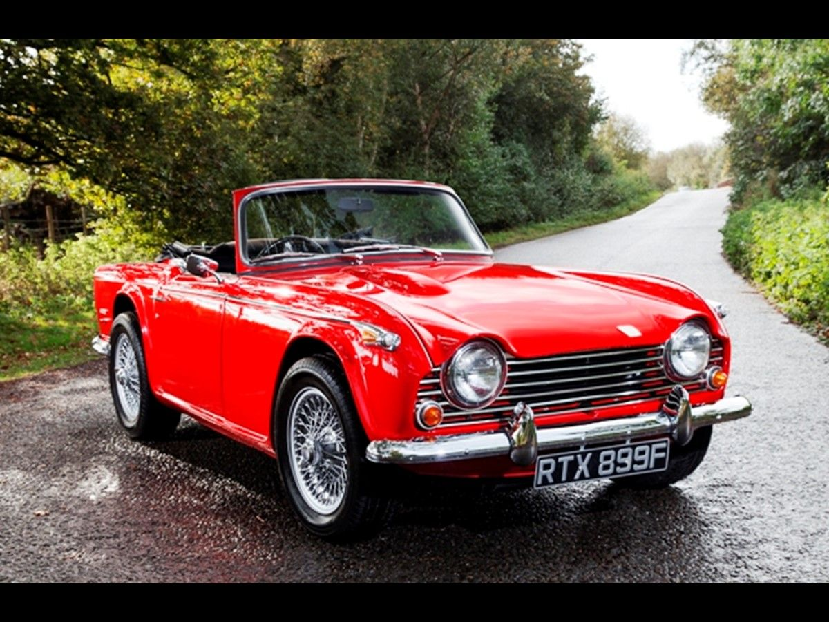 Triumph TR5 - Specialist Classic & Sports Car Auctioneers