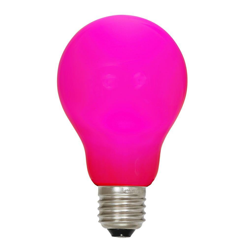 75 Watt Equivalent Pink E26 Led Light Bulb Light Bulb Led Light Bulb Blue Light Bulb