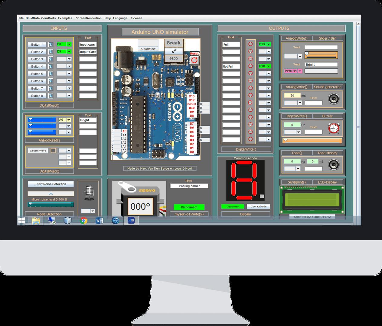 Arduino SImulator 1 5 1 | Arduino in 2019 | Arduino projects