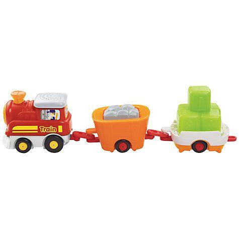 VTech Toot Toot Drivers, Train & Wagon Set   Vtech toddler