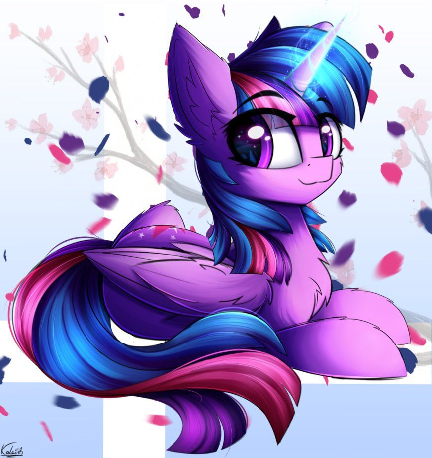 Twilight Colored Sketch By Kaleido Art With Images My Little