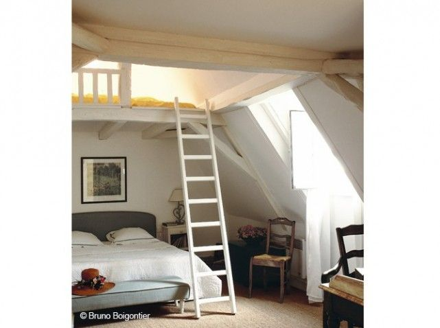 combles mezzanine cabane les d cos de ma 6g beaux int rieurs chambre lits simples ou. Black Bedroom Furniture Sets. Home Design Ideas