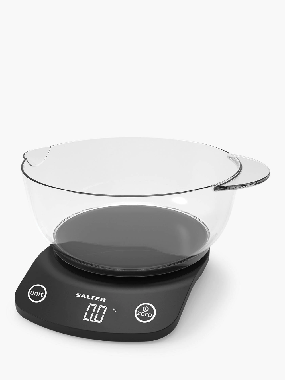 Salter Electronic Kitchen Scale 1 8l Bowl 5kg Electronic Kitchen Scales Kitchen Electronics Kitchen Scale