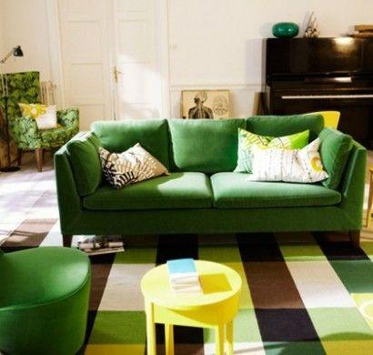 billig sofa gr n b8b dwellings living spaces 3 ikea. Black Bedroom Furniture Sets. Home Design Ideas